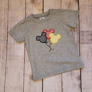 Applique Mickey Mouse Toddler Shirt, Size 3, NWOT